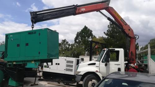 Transporte de equipos electromecánicos en México
